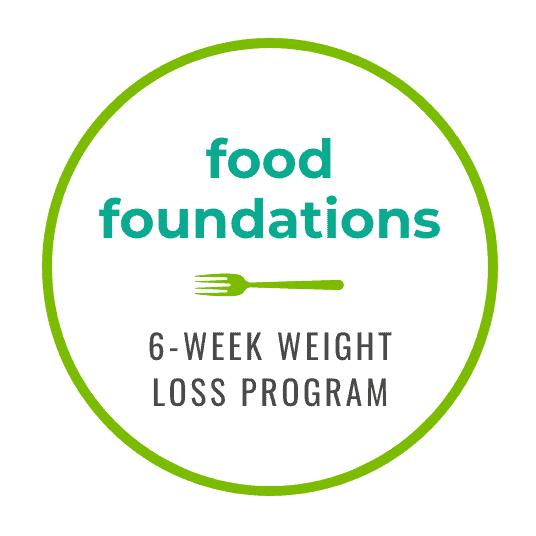 Vibrant Nutrition's Food Foundations: 6-Week Weight Loss Program Logo